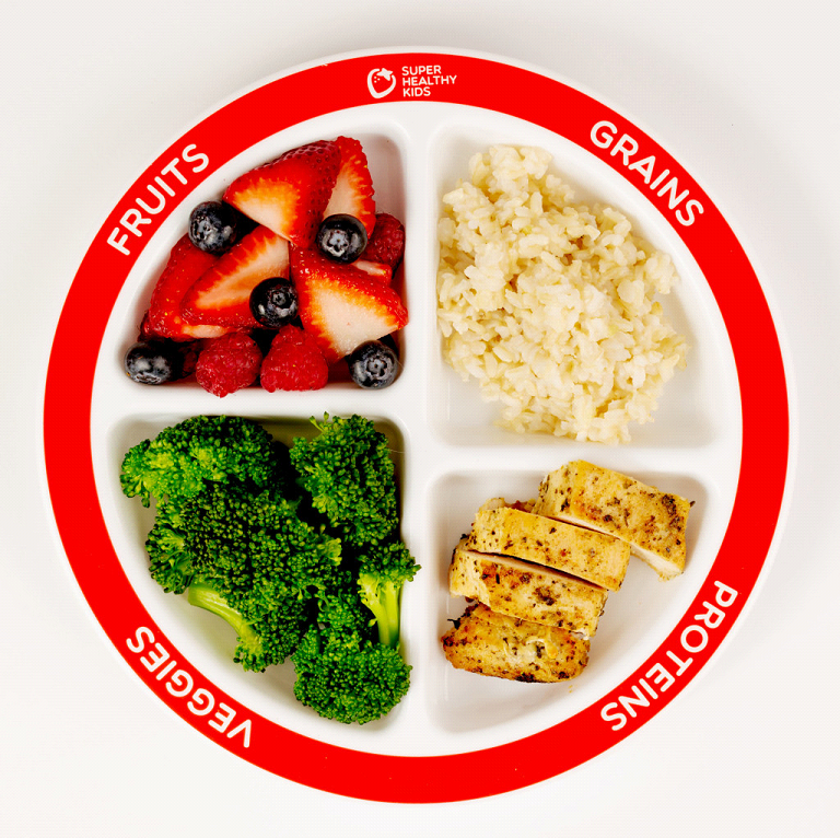My Plate - Super Healthy kids
